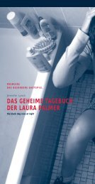 das geheime tagebuch der laura palmer - Societaetstheater