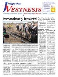 2011.gada 29.septembris Nr.38(223) - Jelgavas Vēstnesis