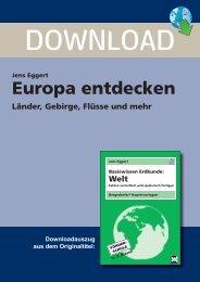 Europa entdecken - Persen Verlag GmbH