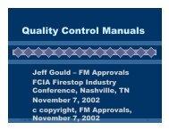 Quality Control Manuals - FCIA - Firestop Contractors International ...