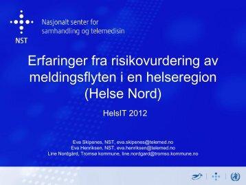 Helse Nord - KITHs