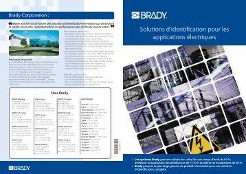 Solutions d'identification pour les applications électriques