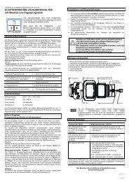 Elektronischer Jalousieschalter mit Wochenautomatik - OPUS Schalter