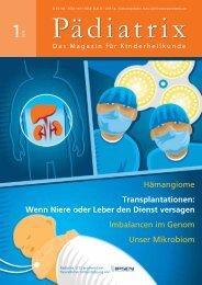 Wenn Niere oder Leber den Dienst versagen Imbalancen ... - Pädiatrix