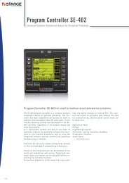 Program Controller SE-402 - Stange Elektronik GmbH