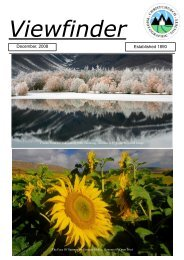 December 2008 Issue - Christchurch Photographic Society