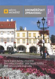 Vydání - 10 / 2010 - Město Kroměříž