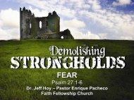 FEAR - Faith Fellowship Church