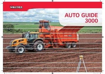 auto guide 3000 - Valtra