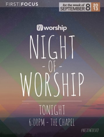 Wednesday Student events at Woodstock - First Baptist Church