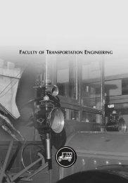 FACULTY OF TRANSPORTATION ENGINEERING