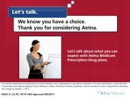 Let's talk. We know you have a choice. Thank you for considering ...