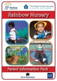 Nursery Brochure June 2011.indd - Westminster Society for People ...