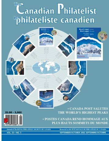 TCP Sept/Oct. pages - The Royal Philatelic Society of Canada