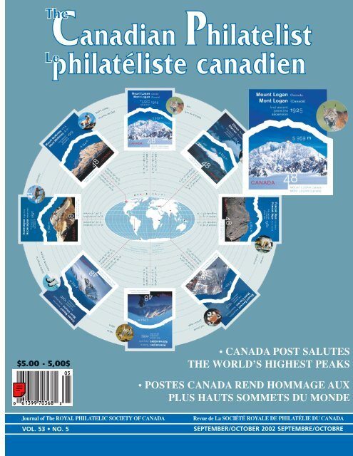 TCP Sept/Oct  pages - The Royal Philatelic Society of Canada