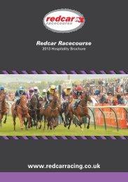 Hospitality 2013 A5 12p - Redcar Racecourse