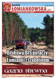 Gazeta Łomiankowska.pl nr 10 z 14 września 2012 (pdf 6 MB)