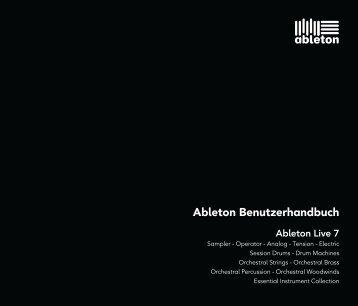 Ableton Benutzerhandbuch