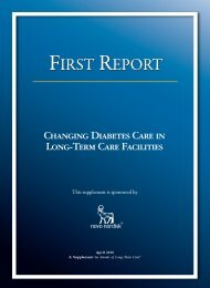 first report first report first report first report - Annals of Long Term Care