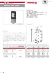 XG10 Intercambiador de calor del placas - Giacomini SpA