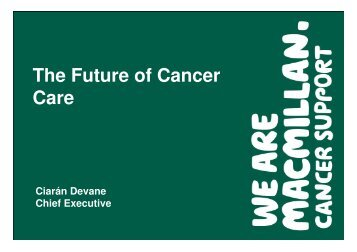 Ciaran Devane - Nwlcn.nhs.uk