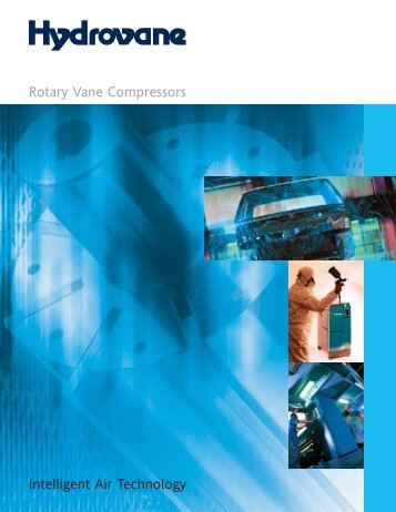 Intelligent Air Technology Rotary Vane Compressors