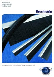 Door Brush Stripe - Architectural Hardware Direct
