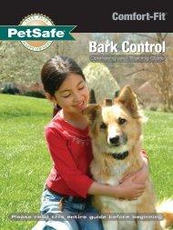 Download PBC00-10677 Comfort Fit Bark Control Collar ... - PetSafe