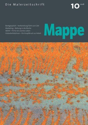 Mappe - Malermeister Horst Hubka