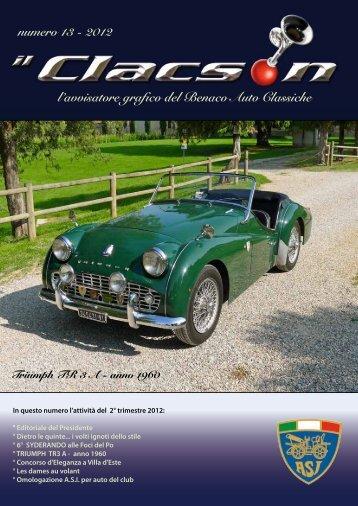 edizione n° 13 Anno 2012 - Benaco Auto Classiche