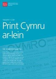 YR YSBRYDOLIAETH - Llyfrgell Genedlaethol Cymru