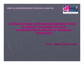 utjecaj procesa pristupanja europskoj uniji na razvoj i (1