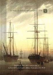 Robert Schumann - Studium Cor de Cambra