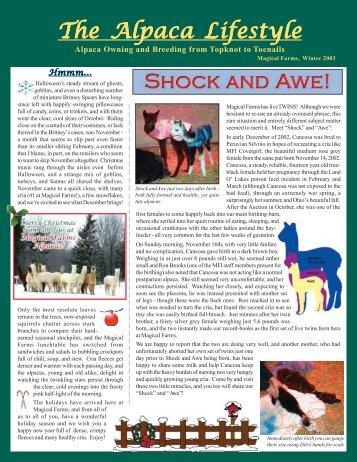 The Alpaca Lifestyle - Magical Farms Alpacas