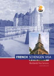 FRENCH SCHENGEN VISA - Visa First