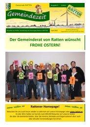 SAMMELAKTION Freitag, 4. Mai 2012 - Ratten