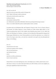 Überblick - Die Homepage von PD Dr. Bianca-Jeanette Schröder