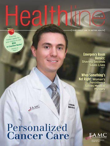 Personalized Cancer Care - Fremont Area Medical Center