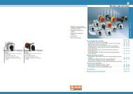 General catalogue 2009-10 - Rotary cam switches - Technika GKM Kft.