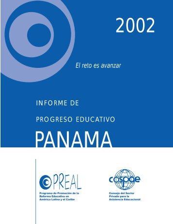Informe de Progreso Educativo en Panamá - OEI