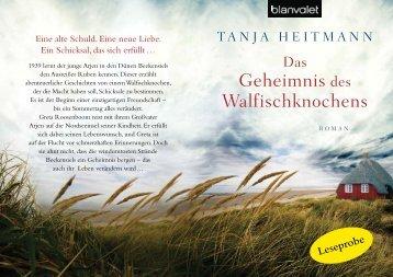 Geheimnis des Walfischknochens - Frauenzimmer.de