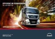 EffiziENz iM fErNvErkEhr. - MAN Truck & Bus