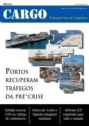 Portos recuPeram tráfegos da Pré -crise - Cargo
