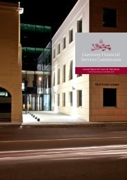 Annual Report and Financial Statements 2010 - the Guernsey ...