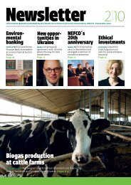 Biogas production at cattle farms - Nefco