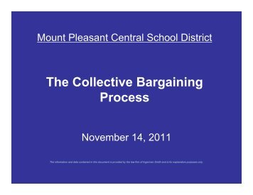 District's Collective Bargaining Agreements - wms.mtplcsd.org