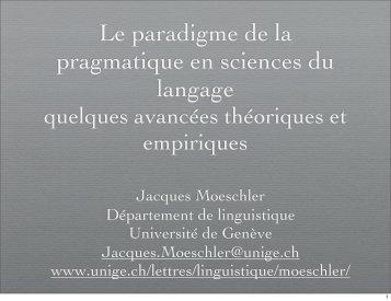 document en format pdf - Histoire des théories linguistiques