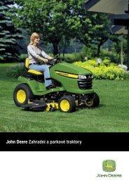 John Deere Zahradní a parkové traktory