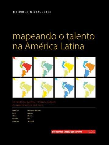 mapeando o talento na América Latina - Global Talent Index