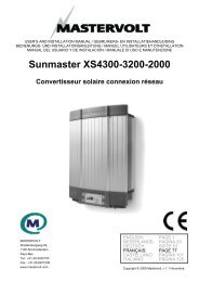 Sunmaster XS4300-3200-2000 - Kogys